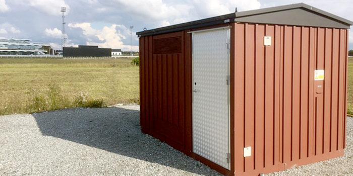 Säker elförsörjning på Sveriges största galoppbana