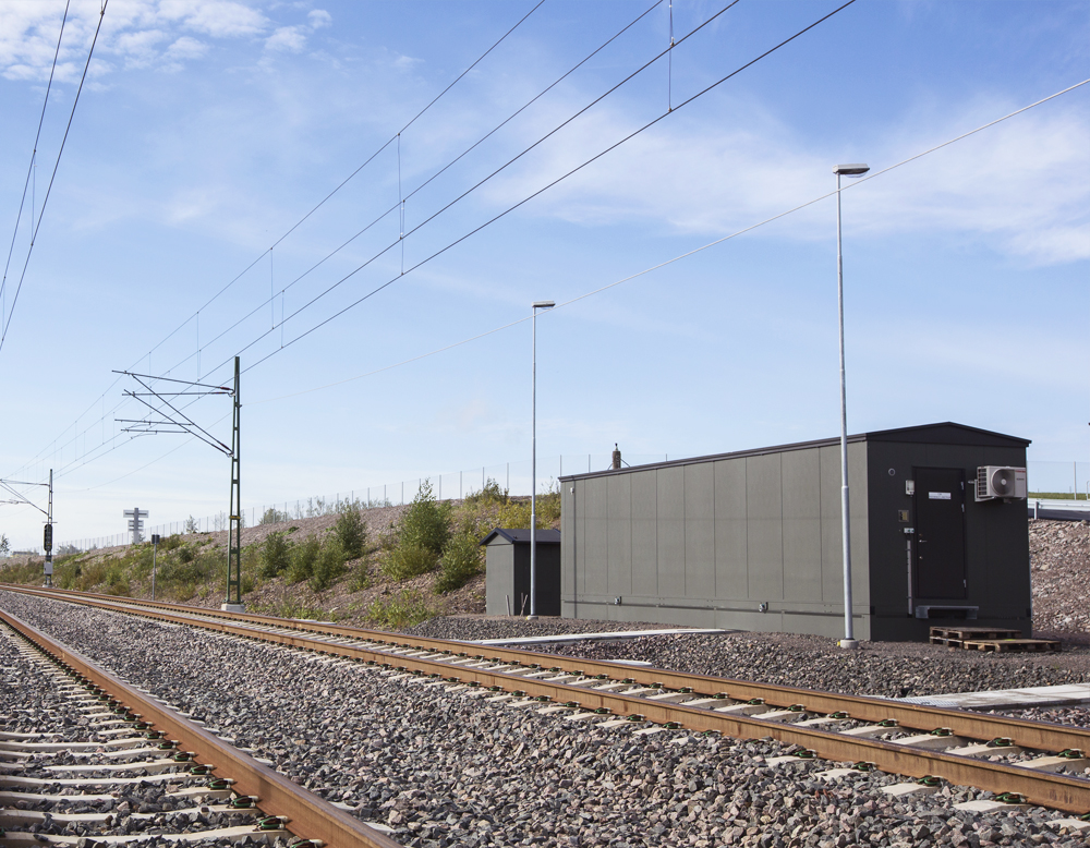 Technical Building for Hallandsåsen