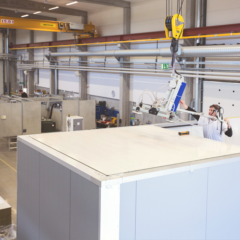 Holtab's technical buildings have several advantages