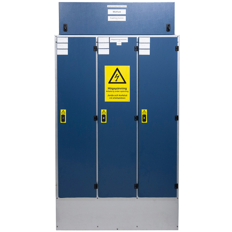 Metering cabinets