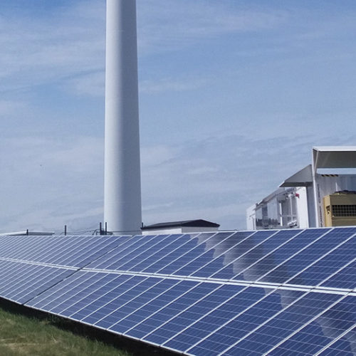 Sweden´s first local energy system
