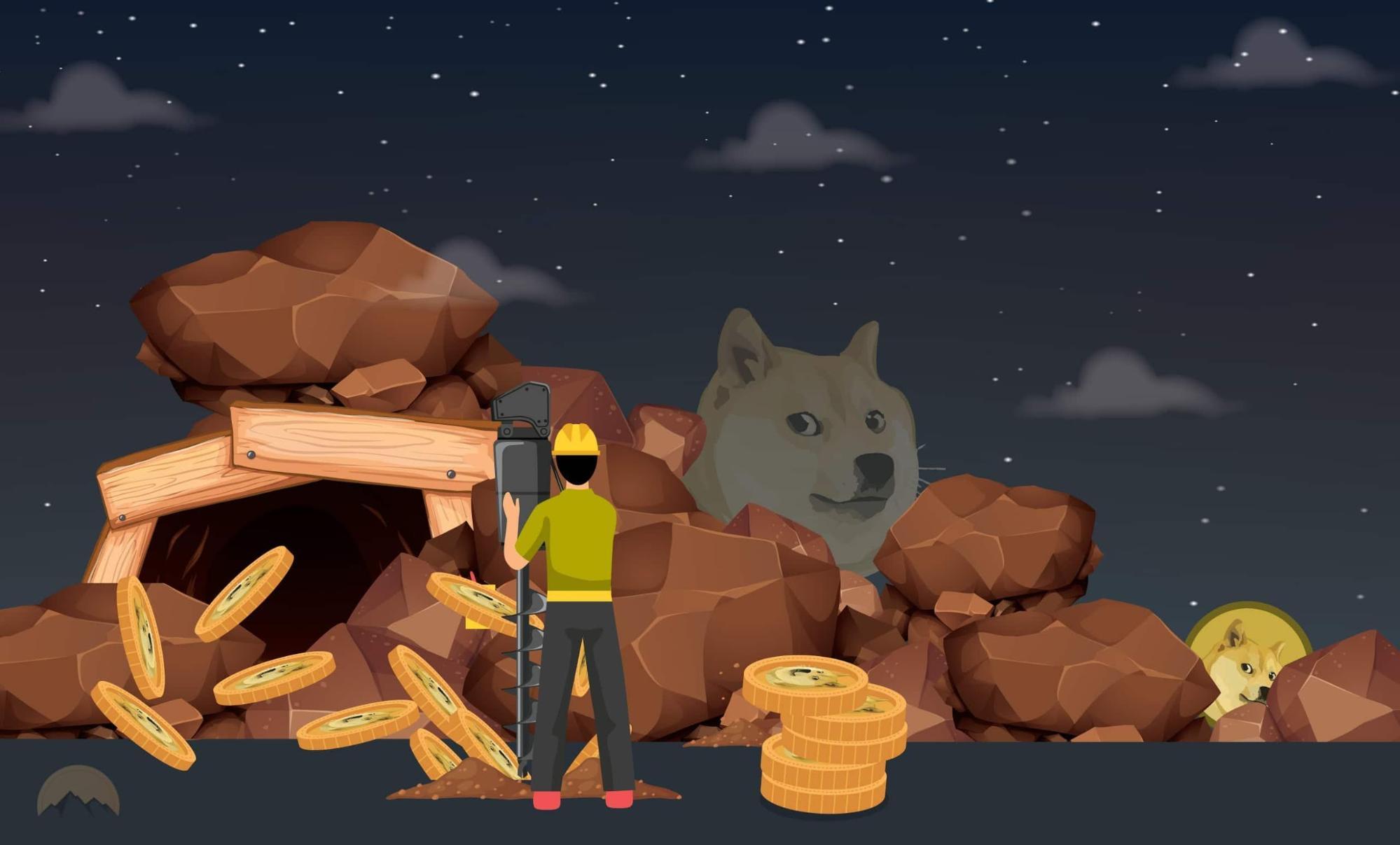 Как майнить Dogecoin (DOGE)