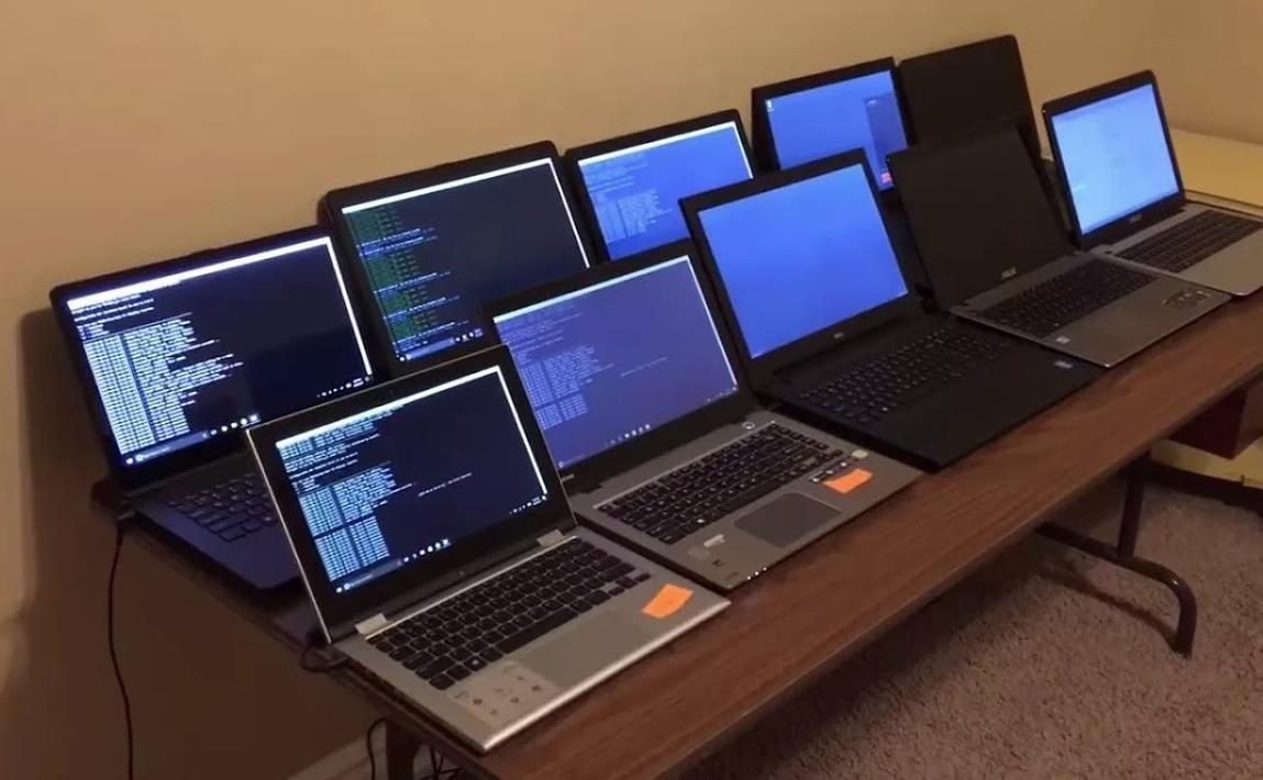 Майнинг на ноутбуке