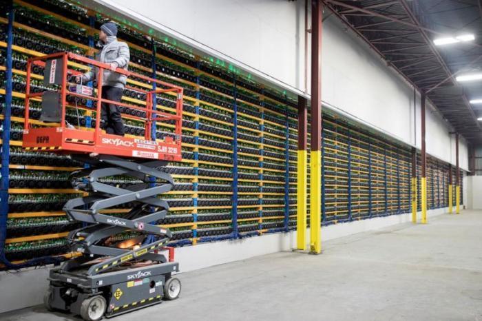 Промышленный майнинг криптовалют в Канаде | Пикабуc
