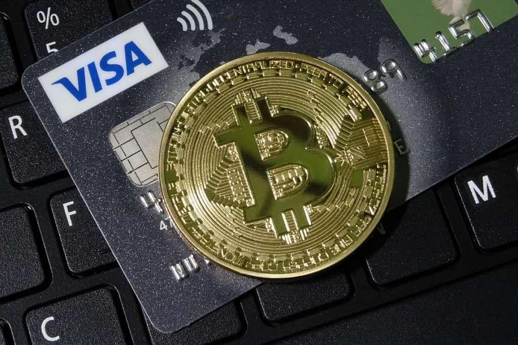Продать Биткоины за рубли через Visa