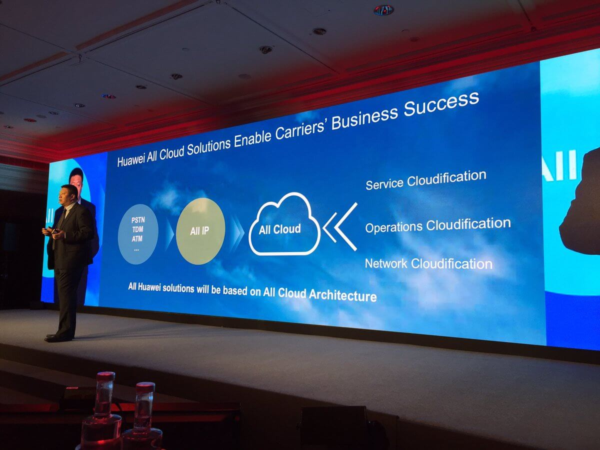 Huawei invested 1 Billion Dollars in the New Open Cloud platform