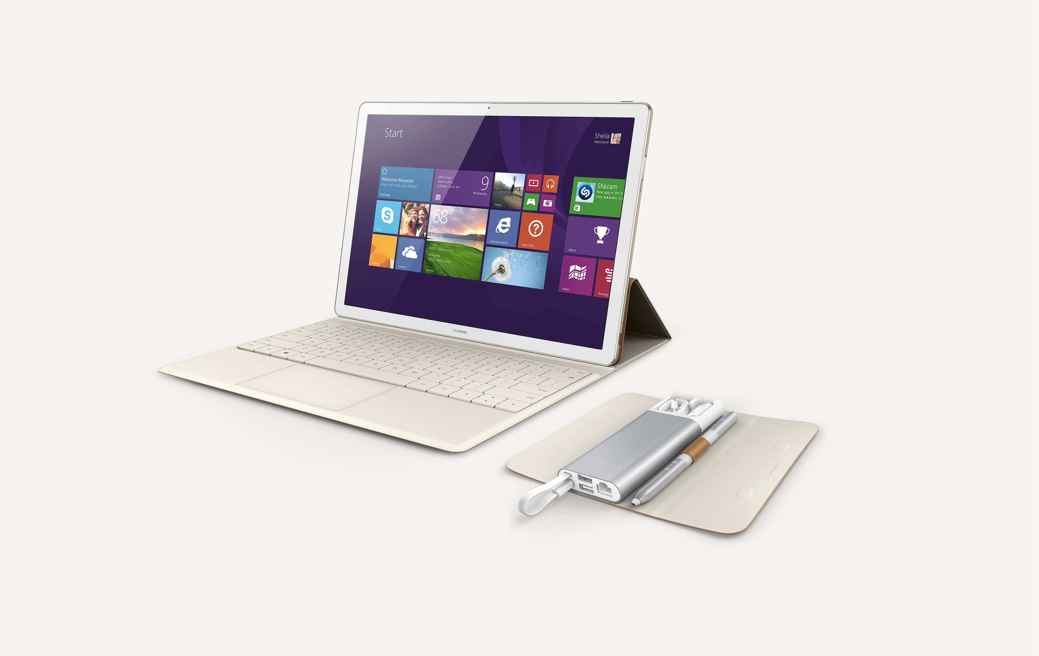 MateBook  Transformer-tablet with Windows 10 operational system