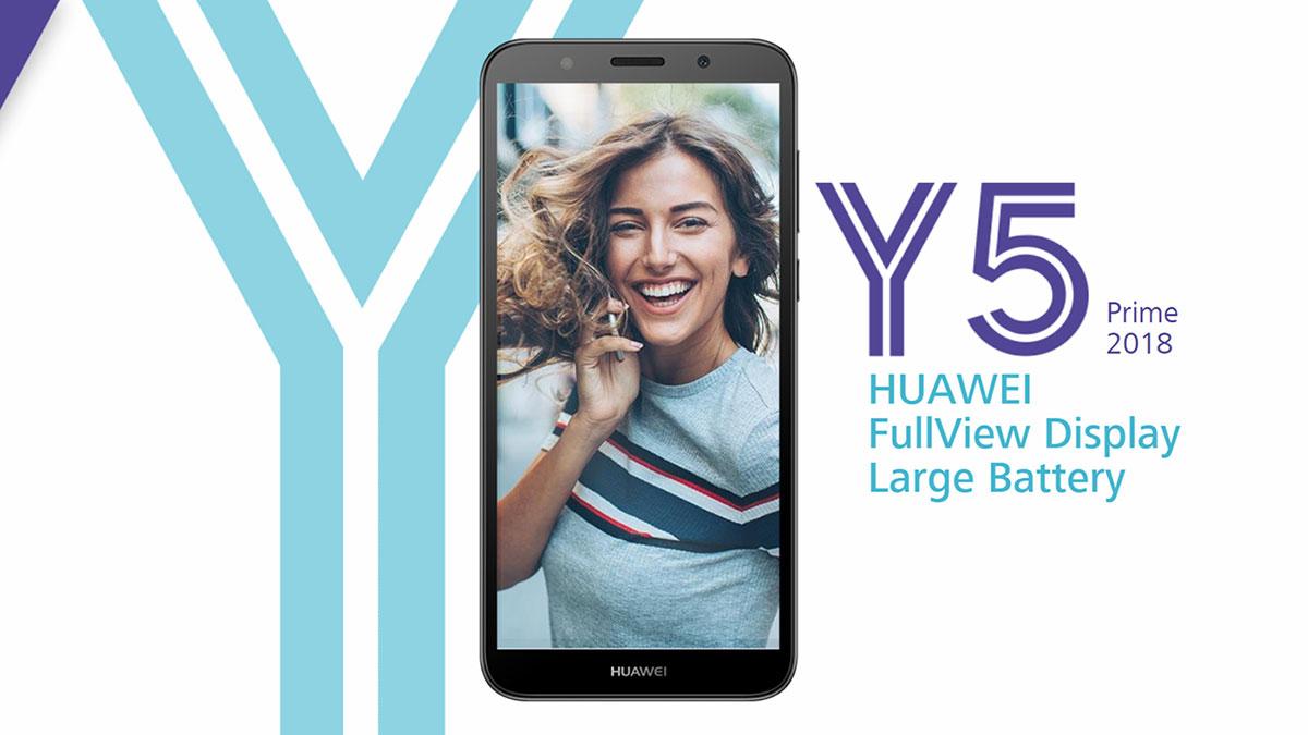 Huawei Y5 Prime phone