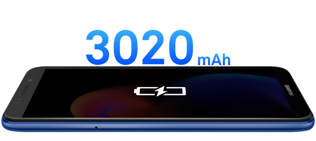 3020 mAh* battery