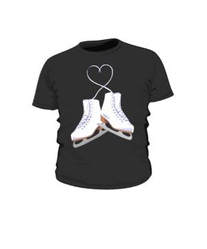 Koszulka dziecięca z łyżwami