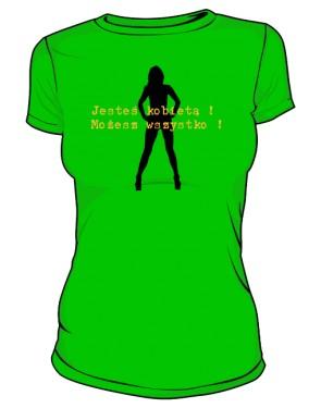 jesteś kobietą zielona