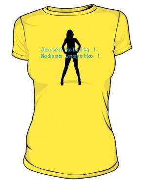 jesteś kobietą żółta