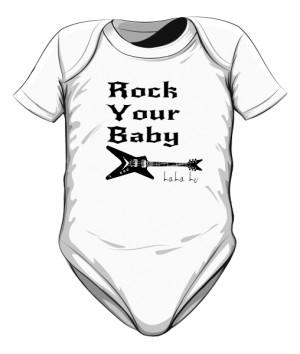 body dziecięce Rock