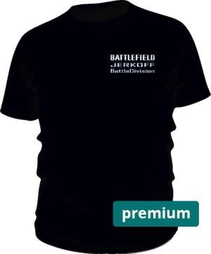 Koszulka premium JERKOFF BattleDivision