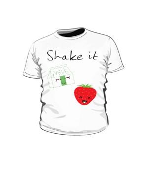 koszulka truskawka