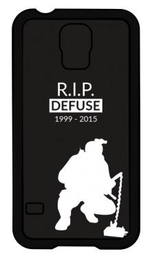 CSGO RIP Defuse Etui Galaxy S4