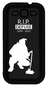CSGO RIP Defuse Etui Galaxy S3
