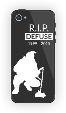 CSGO RIP Defuse Etui Iphone 5 5s
