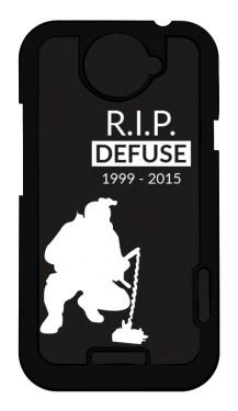 CSGO RIP Defuse Etui HTC ONE X