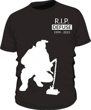 CSGO RIP Defuse Koszulka