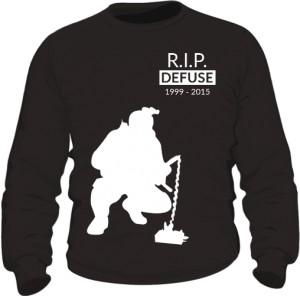 CSGO RIP Defuse Bluza