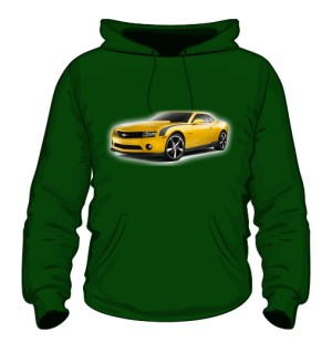 Yellow car Green