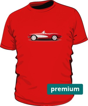 Red car shirt