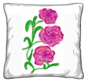 Poduszka Kwiat 1