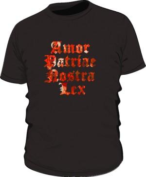 Koszulka  Amor Patriae Nostra Lex