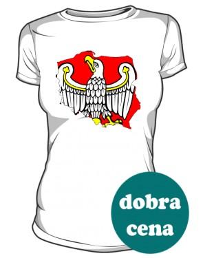 Koszulka damska Orzeł Piastów