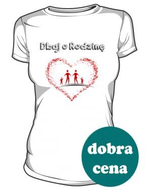Koszulka Dbaj o Rodzinę Damska