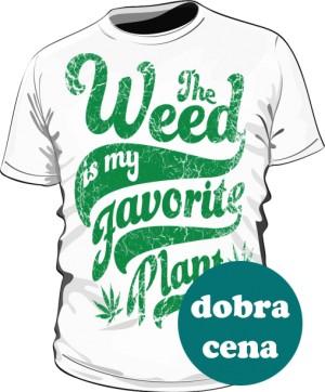 Koszulka Weed is my
