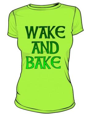 Wake And Bake Green Woman