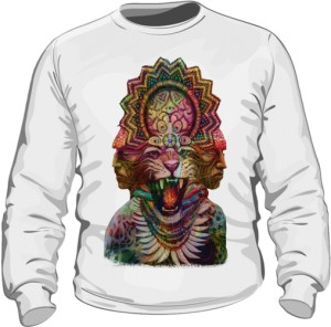Bluza Lion White