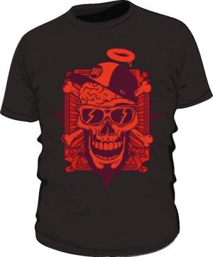 Black Red Skull