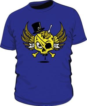 Roasty Yellow Skull Man