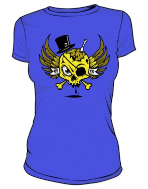 Roasty Yellow Skull