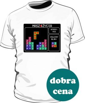 Koszulka Tetris biała