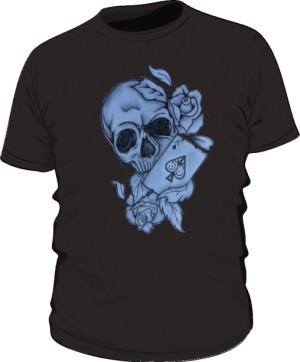 Skull And As Pik Black M