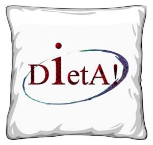 Dieta poduszka 40x40cm biały