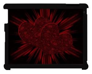 Magiczne Miłość etui do iPad czarny