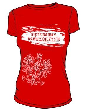 BARWY OJCZYSTE  koszulka damska