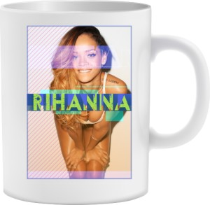 Kubek z nadrukiem Rihanna
