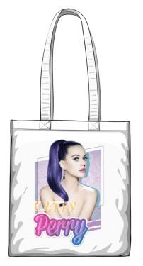 Torba bawełniana z nadrukiem Katy Perry