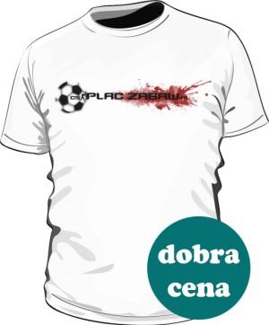 Biała koszulka męska z logo