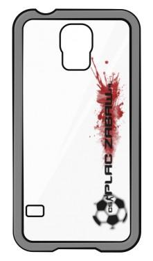 Etui do Samsung Galaxy S4 z czarnym logo