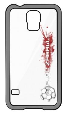 Etui do Samsung Galaxy S4 z białym logo