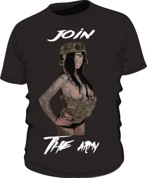 Join The Army Black
