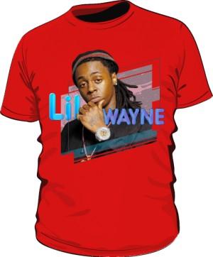 Koszulka z nadrukiem Lil Wayne