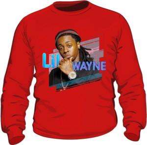 Bluza z nadrukiem Lil Wayne